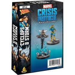 Marvel: Crisis Protocol – Cyclops & Storm Expansion (2020) в Marvel: Crisis Protocol