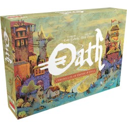 (Pre-order) Oath: Chronicles of Empire and Exile (Retail Edition, 2021) - настолна игра