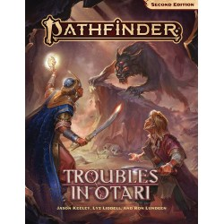 Pathfinder RPG Second Edition: Adventure - Troubles in Otari in Pathfinder 2nd Edition Books