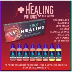 Scale75 Instant Colors Set - Healing Potions в Акрилни бои Scale75