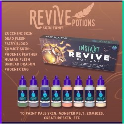 Scale75 Instant Colors Set - Revive Potions в Акрилни бои Scale75