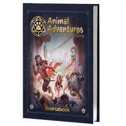 Animal Adventures RPG - Gullet Cove Sourcebook (2021, hardcover) in Other RPGs