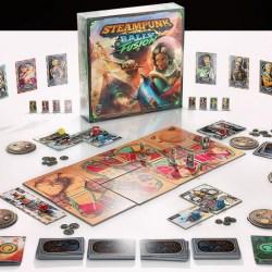 Steampunk Rally Fusion (2021) Board Game