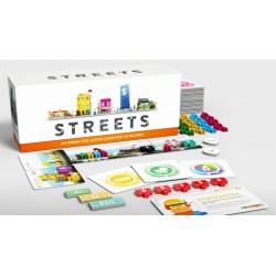 (Pre-order) Streets Board Game (2021) - настолна игра