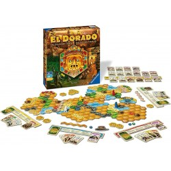 The Quest for El Dorado: The Golden Temples (2019, English/German) - настолна игра