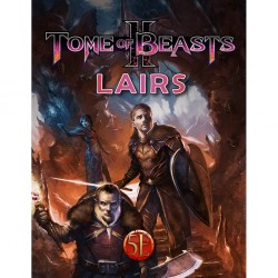 Dungeons & Dragons RPG 5th Edition: Tome of Beasts 2 - Lairs (5E Softcover, Kobold Press) in D&D Other Rulebooks