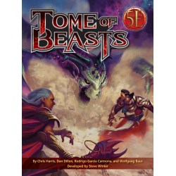 Dungeons & Dragons RPG 5th Edition: Tome of Beasts (5E Hardcover, Kobold Press) в D&D и други RPG / D&D 5th Edition / D&D други правила