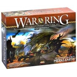 """[Леко увредена кутия, запечатана] War of the Ring (2nd Edition, 2016) - настолна игра по """"Властелинът на пръстените"""""""