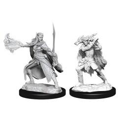 Dungeons & Dragons Nolzur`s Marvelous Miniatures: Wave 15 Winter Eladrin & Spring Eladrin в D&D и други RPG / D&D Миниатюри