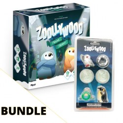 Zoollywood + Miniature Pack & Expansion Bundle (2020) Board Game