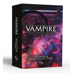 Vampire The Masquerade: 5th Edition - Discipline and Blood Magic Card Deck in Vampire: The Masquerade