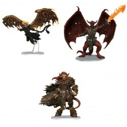 (Pre-order) Dungeons & Dragons Fantasy Miniatures: Icons of the Realms - Figure Pack: Archdevils - Bael, Bel, and Zariel в D&D и други RPG / D&D Миниатюри / Icons of the Realms
