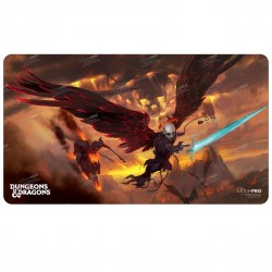 """Ultra Pro Dungeons & Dragons Cover Series Playmat - Baldur's Gate: Descent Into Avernus (24""""x13.5"""") in Sleeves & Accessories"""