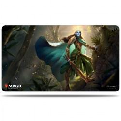 "Ultra Pro Magic the Gathering Playmat: Kaldheim - Lathril, Blade of Elves (24""x13.5"") в Аксесоари"