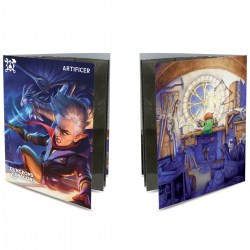 Ultra Pro Dungeons & Dragons Character Folio With Stickers - Artificer в D&D и други RPG / D&D карти и аксесоари