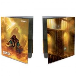 Ultra Pro Dungeons & Dragons Character Folio With Stickers - Cleric в D&D и други RPG / D&D карти и аксесоари