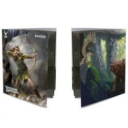 Ultra Pro Dungeons & Dragons Character Folio With Stickers - Ranger в D&D и други RPG / D&D карти и аксесоари