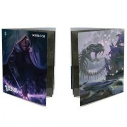 Ultra Pro Dungeons & Dragons Character Folio With Stickers - Warlock в D&D и други RPG / D&D карти и аксесоари