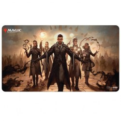 """Ultra Pro Magic the Gathering Playmat: Strixhaven - Silverquil (24""""x13.5"""") in Sleeves & Accessories"""