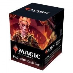 Ultra Pro Magic: The Gathering - Adventures in the Forgotten Realms: Zuriel, Archduke of Avernus Deck Box (100+) in Deck boxes