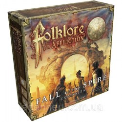 [Леко увредена кутия] Folklore: The Affliction – Fall of the Spire Expansion (2020) - разширение за настолна игра