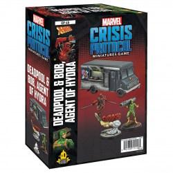 Marvel: Crisis Protocol – Deadpool & Bob, Agent of Hydra Expansion (2021) в Marvel: Crisis Protocol