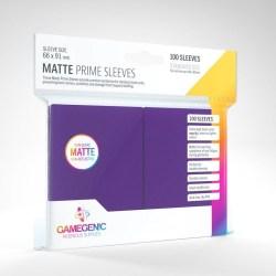 Gamegenic Matte Purple Sleeves Pink 66x91mm (100 premium sleeves) в LCG, 63.5x88 мм)