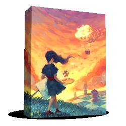 (Pre-order) Canvas (2021) - настолна игра