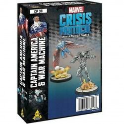 Marvel: Crisis Protocol – Captain America and War Machine (2021) в Marvel: Crisis Protocol