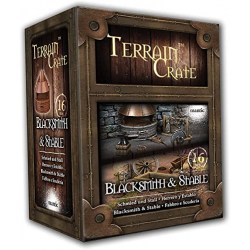 Mantic Games: Terrain Crate - Blacksmith & Stable in Terrain for games