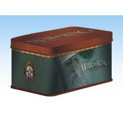 War of the Ring Sleeves and Deck box (Gandalf Version) - метална кутия и протектори за WotR в Кутии за карти