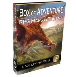 Loke Battle Mats: Box of Adventure - Valley of Peril в D&D и други RPG / D&D / Pathfinder терен