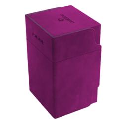 Gamegenic Purple Watchtower Deck Holder (100+) - лилава кутия за карти и игрални аксесоари в Кутии за карти