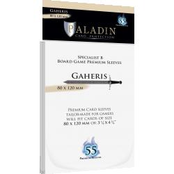 Протектори за карти Paladin Sleeves - Gaheris Premium Specialist B (80x120mm) 55 Pack, 90 Microns в Dixit Size (80x120 мм)
