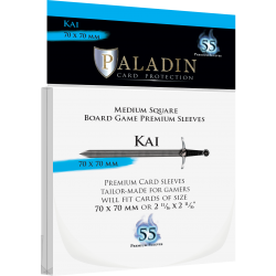 Paladin Sleeves - Kai Premium Square (70x70mm) 55 Pack, 90 Microns in Other Sleeves