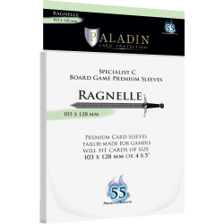 Paladin Sleeves - Ragnelle Premium Specialist C (103x128mm) 55 Pack, 90 Microns in Other Sleeves