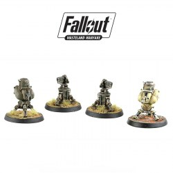 Fallout: Wasteland Warfare - Turret Terrain Expansion