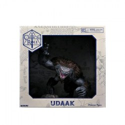 Dungeons & Dragons Fantasy Miniatures: Critical Role - Udaak Premium Figure in D&D Miniatures
