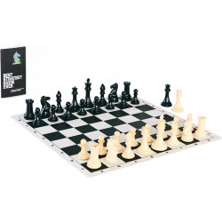Best Chess Set Ever (triple weighted pieces, silicone board) in Gifts
