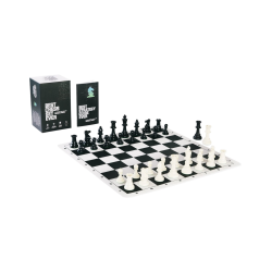 Best Chess Set Ever XL (quadruple weighted pieces, silicone board) - комплект за шах в Подаръци