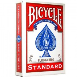 Bicycle Standard Playing Card Deck - Red in Playing cards