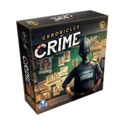 [Леко увредена кутия, запечатана] Chronicles of Crime (2018) - кооперативна настолна игра