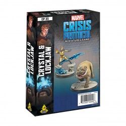 Marvel: Crisis Protocol – Crystal and Lockjaw Expansion (2021) в Marvel: Crisis Protocol