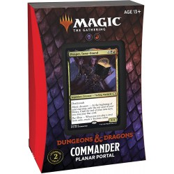 (Pre-order) MTG: Dungeons & Dragons D&D Adventures in the Forgotten Realms Commander Deck - Planar Portal в Magic: the Gathering