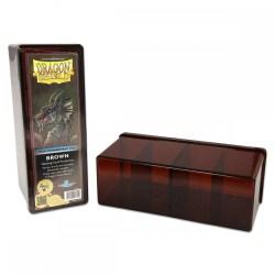 Dragon Shield Four Compartment Box (кафява) - кутия за карти в Кутии за карти