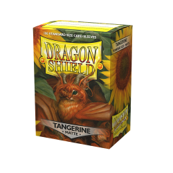 Dragon Shield - premium matt sleeves (tangerine) 100 per pack в LCG, 63.5x88 мм)