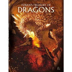 Dungeons & Dragons RPG 5th Edition: D&D Fizban's Treasury of Dragons (Alternate Cover, Limited Edition) in D&D Other Rulebooks