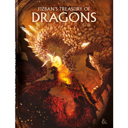 (Pre-order) Dungeons & Dragons RPG 5th Edition: D&D Fizban's Treasury of Dragons (Alternate Cover, Limited Edition) в D&D и други RPG / D&D 5th Edition / D&D други правила