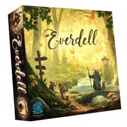 [Slightly damaged box] Everdell (Second Edition, 2020) Board Game
