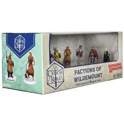 Dungeons & Dragons Fantasy Miniatures: Critical Role - Factions of Wildemount: Clovis Concord & Menagerie Coast Box Set в D&D и други RPG / D&D Миниатюри